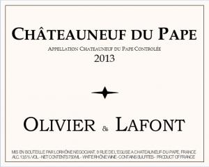Châteauneuf du Pape Blanc